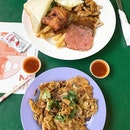 Expedition to the river for some Oyster Omelette and super affordable Western food.