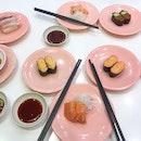 Affordable sushi ftw.