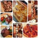 Highly recommended : Garlic bread, chilli garlic chilli prawns, Iberico collar skewer & Angus Ribeye skewer (best when the beef is medium / well done).