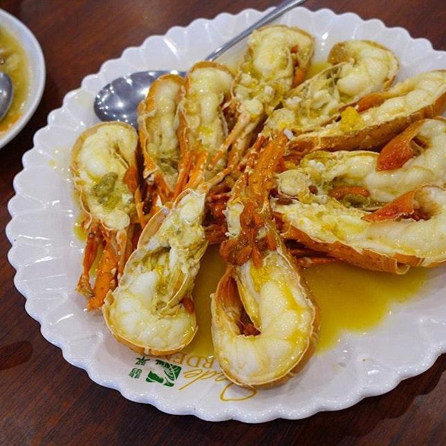 Round 1 : African lobsters in superior stock  #roadtrip #desaru #brunch #lunch #lobster #lobsterfest #yummy #instagood #foodlover #vscofood #onthetable #whati8today #food #foodie #fotd #foodgram #foodporn #foodpornography #getinmybelly #igfoodies #malaysiafood #foodforfoodies #foodstagram #happytummy #foodphotography #foodpics #icapturefood #foodstamping #burpple