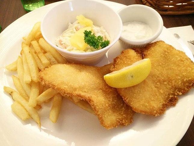 Good o fish and chip.