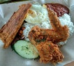 Nasi lemak aft yesterday's cycling adventure from home to bedok reservoir!