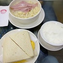 First meal after touching down in Hong Kong was Yee Shun dairy!