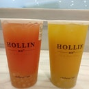 First day activating my burpplebeyond and the first bubble tea we had was hollins again (haha it is our 4th hollins purchase already!