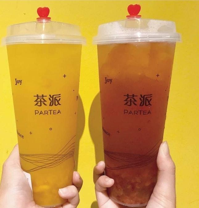 Mango Green Tea!!