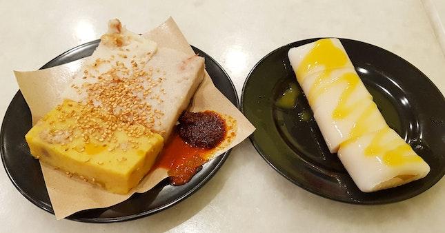 三色糕 And Mango Roll!