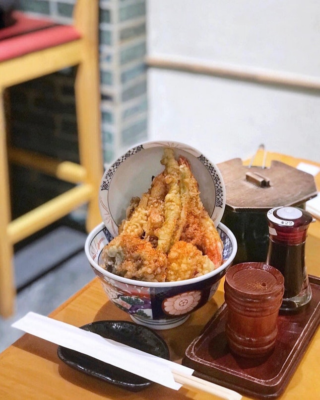 Tendon Kohaku 天丼琥珀 (Suntec City)