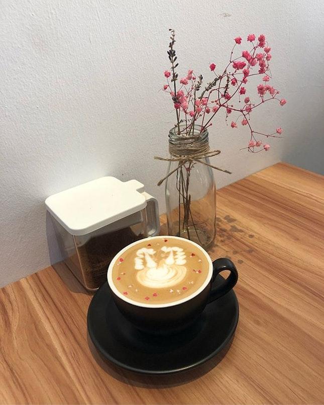 Houjicha and latte!