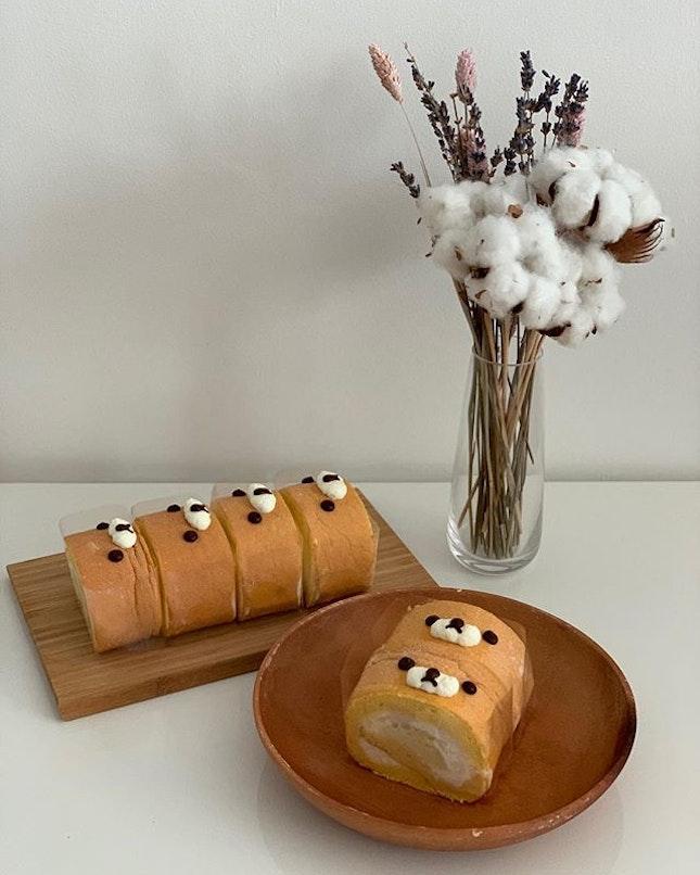 Yummy fuwa fuwa roll to start the morning.