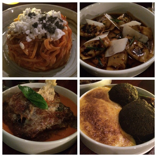 From the Small Plates selection