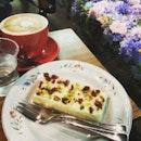 Lemon Pistachios Cheesecake @ Shen& Co.