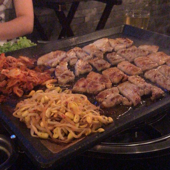 4 Colours Pork Belly Set