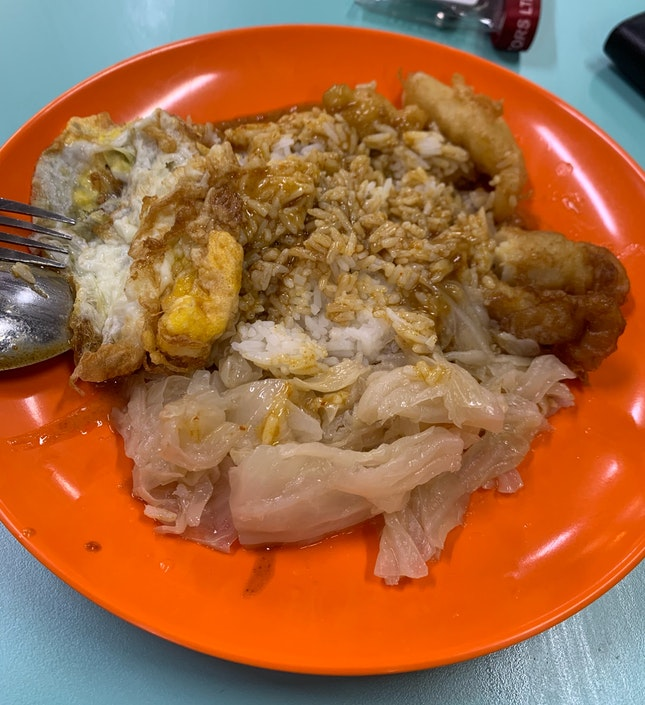 Hainanese Curry Rice - Fried Fish