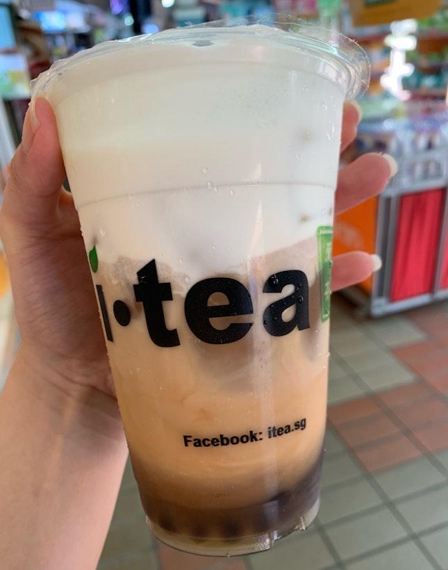 Black Tea Macchiato