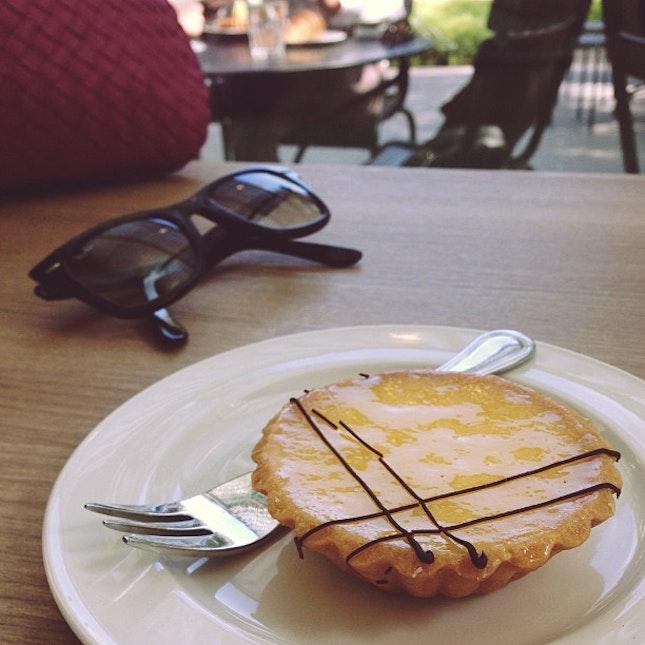 Time for tea and a lemon tart.