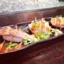 The divine aburi sushi at Raikuichi.