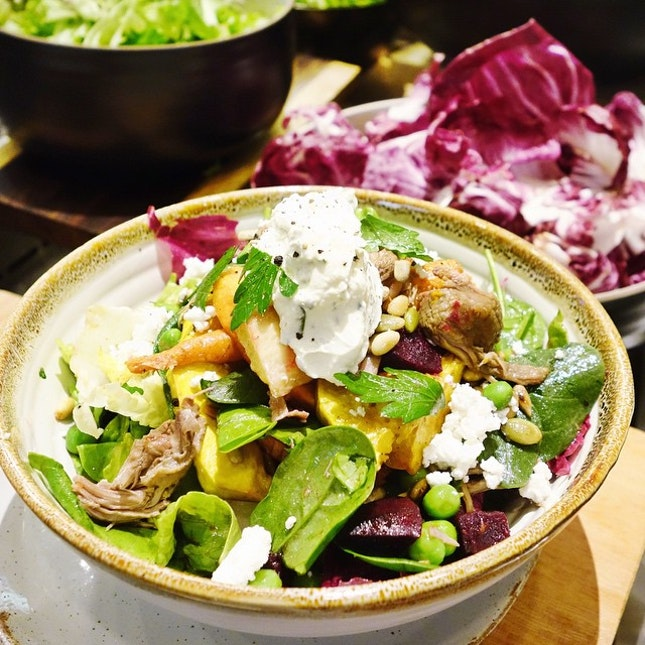 My favorite salad from @skinnysaladssg!