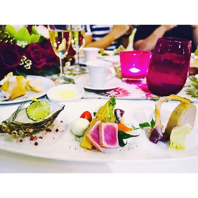 New Post on the festive dining options at @raffleshotelsingapore.