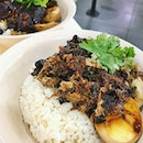 Braised pork in dark soy on rice!