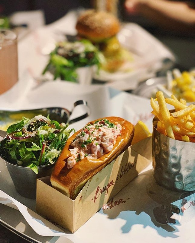This is how I roll @burgerandlobstersg which is opening tomorrow!