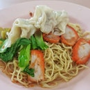 Wanton Noodles S$2.90 These days so hard to find noodles like than S$3.