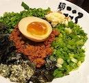 I am always a fan of Mazesoba - Japanese Dry Ramen.