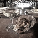 Sherry and fish skins.