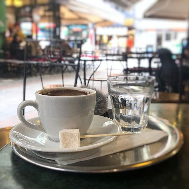 So many great cafes in the quieter hipster neighborhood of Kadikoy!