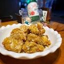 Carbonara chicken..