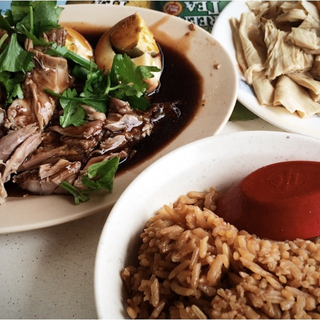 Delectable Duck Rice