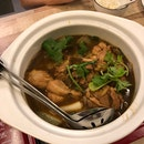 Mushroom Chicken Hotpot