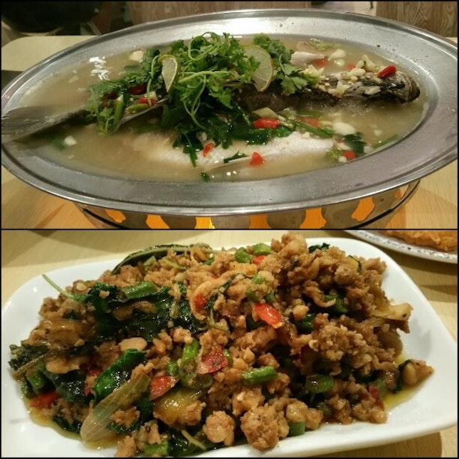 Sumptuous Thai Dinner