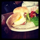 Eggs Benedict? I Forgot! Whoops. Only During The Morning At Coffee Beans & Tea!