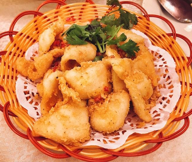 Pepper & Salt Fried Squid