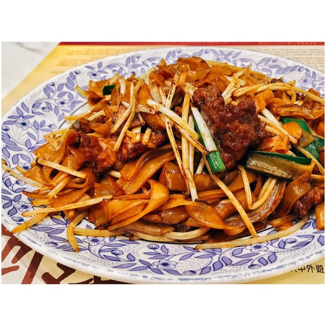 Stir Fry Beef Hor Fun (HK$105)