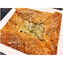 Buckwheat Crêpe with Emmental Cheese & Mushrooms with Cream (15.70+)