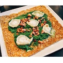 Buckwheat Crêpe with Creamed Spinach, Goat Cheese & Bacon Bits ($21.90+)