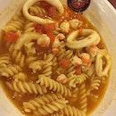 Seafood pasta soup #sgeats #followme #foodblogger #singaporefood #delicious #yummy #foodgasm #foodstamping #sgfood #foodoftheday #foodporn #burpple #foodspotting #fatdieme #foodgasm #instafood #openricesg #justeat #foodphotography #8dayseatout #instasg #umakemehungry #lifeisdeliciousinsg #foodblogs #nomnomnom