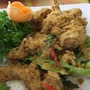 Salted egg prawn #sgeats #followme #foodblogger #singaporefood #delicious #yummy #foodgasm #foodstamping #sgfood #foodoftheday #foodporn #burpple #foodspotting #fatdieme #foodgasm #instafood #openricesg #justeat #foodphotography #8dayseatout #instasg #umakemehungry #lifeisdeliciousinsg #foodblogs #nomnomnom #nofilter