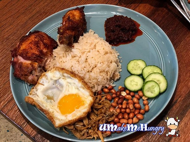 This Nasi Lemak is one of the new entrants to Michelin Bib Gourmand List 2018 .