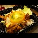 KFC Mushroom Sauce Rice
