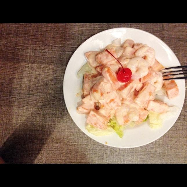 Shrimp Papaya Salad