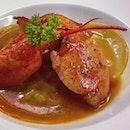 Lobster Ravioli @ Al Majlis, Asoke
