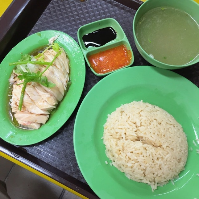 Hainanese Boneless Chicken Rice ($2.50)