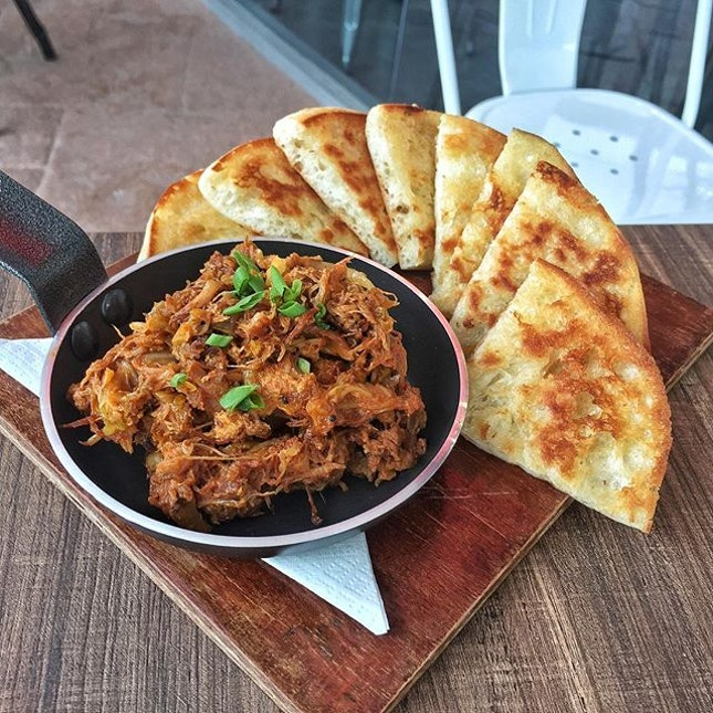 If you're looking for a good pulled pork dish, head over to Alter Ego!