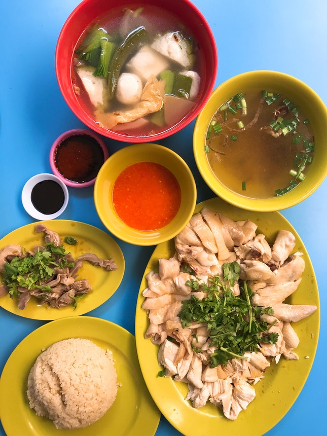 Golden Mile Special Yong Tau Fu & Chicken Rice from Level 1