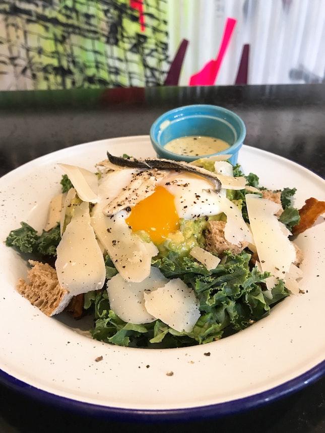 Kale Caesar Salad ($18++)