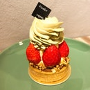 Strawberry Tart ($9.80++)