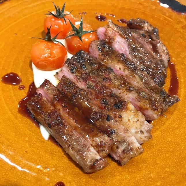 Iberian Pork Secreto ($26++)