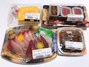 Buri Sashimi ($7.80), Tamagoyaki ($3.90), Tekka Maki ($5) & Hijini Nimono ($1.90)